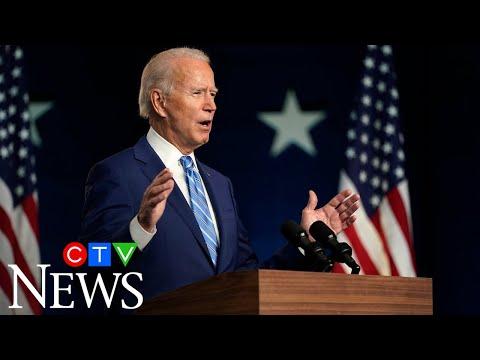 Biden speaks in Delaware: 'We believe we'll be the winners'
