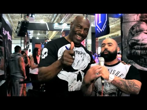 LEE HANEY at the 2017 Arnold Classic Brazil (Powered by Yamamoto Nutrition)