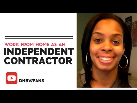Work from Home as an Independent Contractor? Pros and Cons