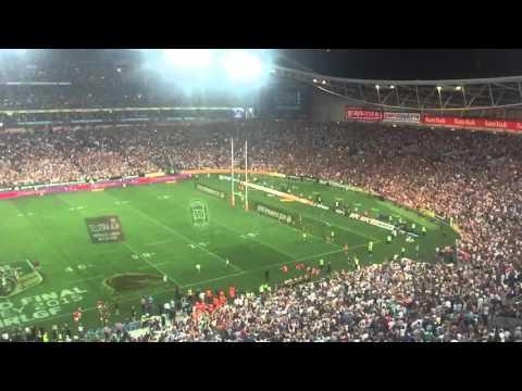 Jonathan Thurston - SLoMo conversion miss - NRL Grand Final 2015