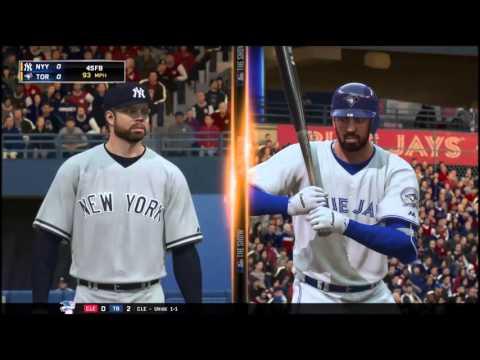 Corey Kluber Debut! Yankees @ Blue Jays. MLB 16 Yankees Franchise Ep. 3