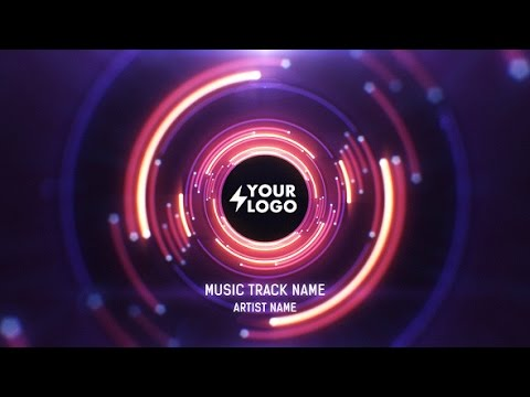 Audio React Tunnel Music Visualizer After Effects Template Youtube