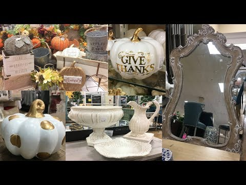 🍁SHOP WITH ME HOME GOODS  FALL DECOR  (FALL 2018) THE RUMORS ARE TRUE 😱🍁