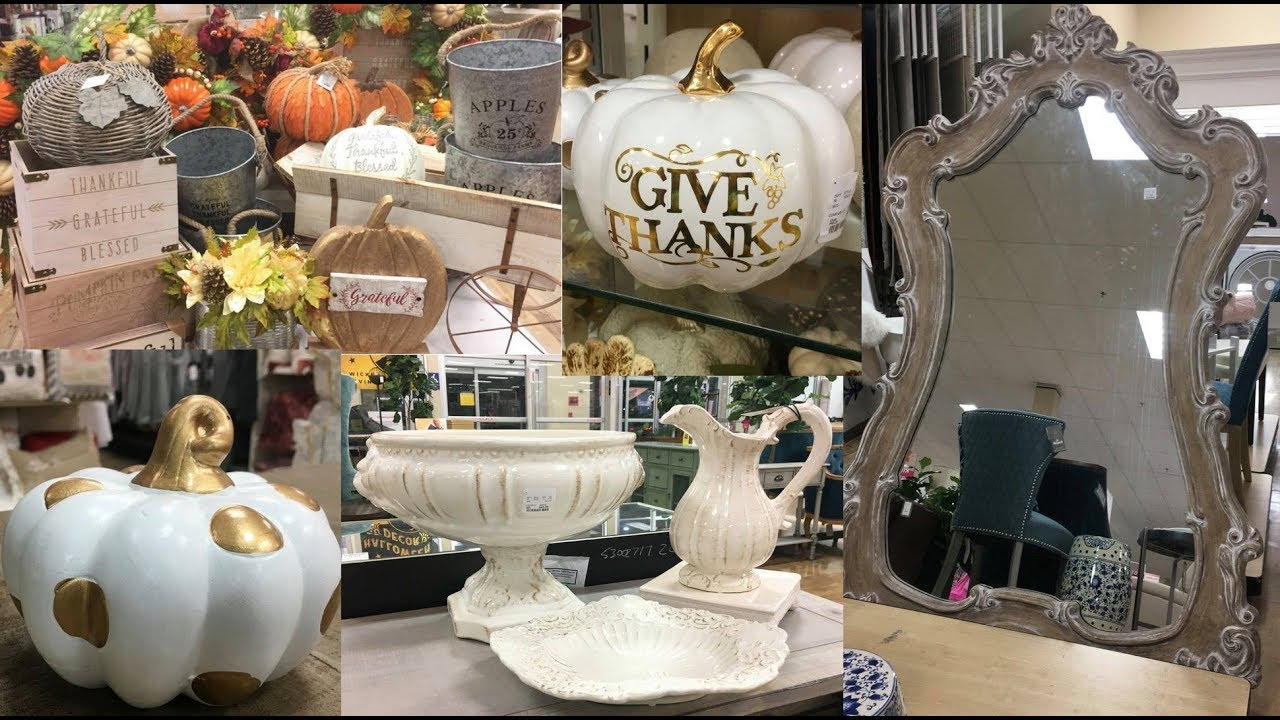 SHOP WITH ME HOME GOODS FALL DECOR (FALL 2018) THE RUMORS