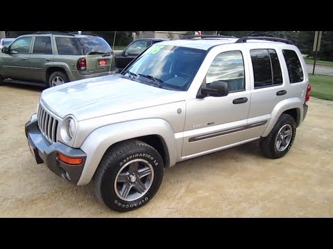 2004 jeep liberty 3 7l v6 start up walk around and review. Black Bedroom Furniture Sets. Home Design Ideas