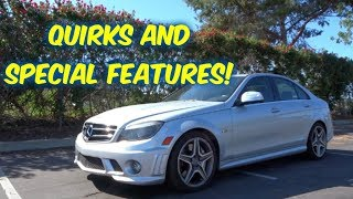 Mercedes C63 AMG--Special Features & Quirks!--What features make up a C63 AMG?