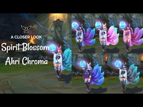 Spirit Blossom Ahri Chromas