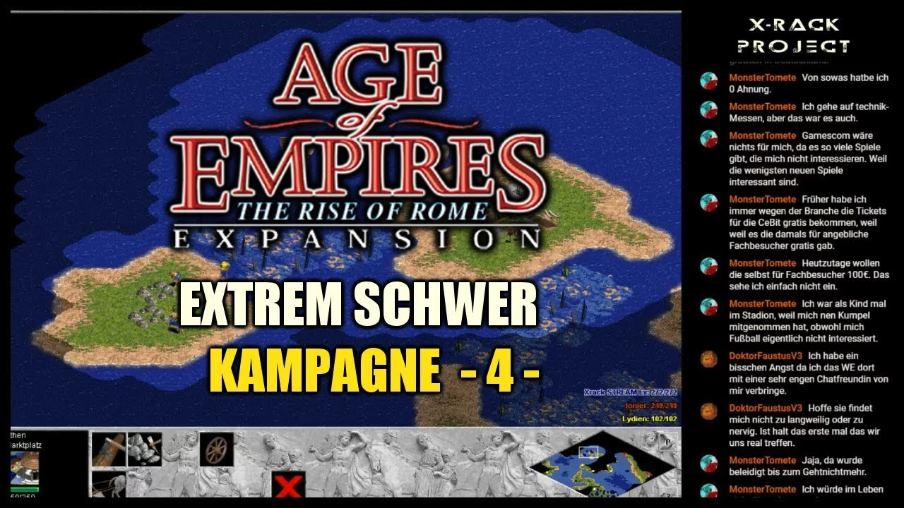 Age Of Empires Rise Of Rome Kampagne Extrem Schwer Part 4 Griechen Greeks
