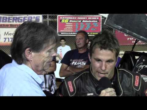 Williams Grove Speedway 410 Sprint Car Victory Lane 9-06-15