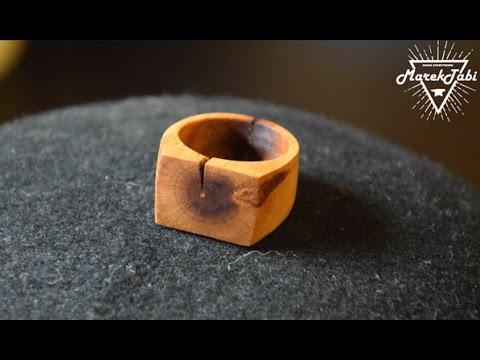 Cherry wood Ring