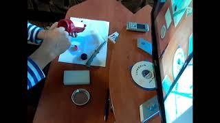 Ремонт кнопки  светодиодного фонарика. Ремонт своими руками