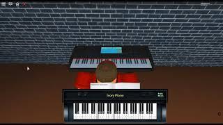Senbonzakura Ballad - Vocaloid by: Kurousa P on a ROBLOX piano.