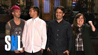 Aidy Freestyles For Lin-Manuel Miranda and Twenty One Pilots - SNL