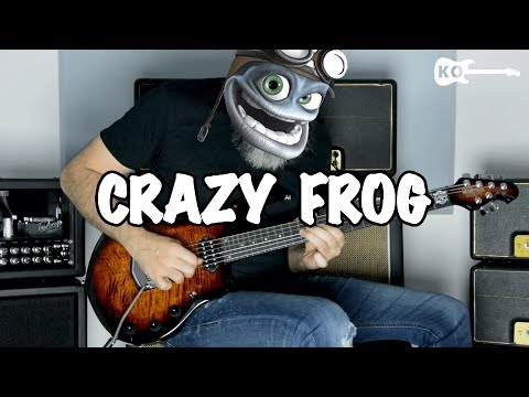 Crazy Frog - Axel F - Metal Guitar Cover By Kfir Ochaion