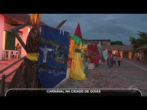 JMD (25/02/17) - Público recorde é esperado para o carnaval da Cidade de Goiás