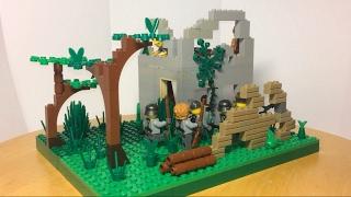Лего самоделка #20 на тему Вторая Мировая война!