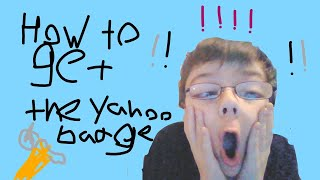 How To Get The Yahoo Badge In Roblox Baldi's Basics RP!!!
