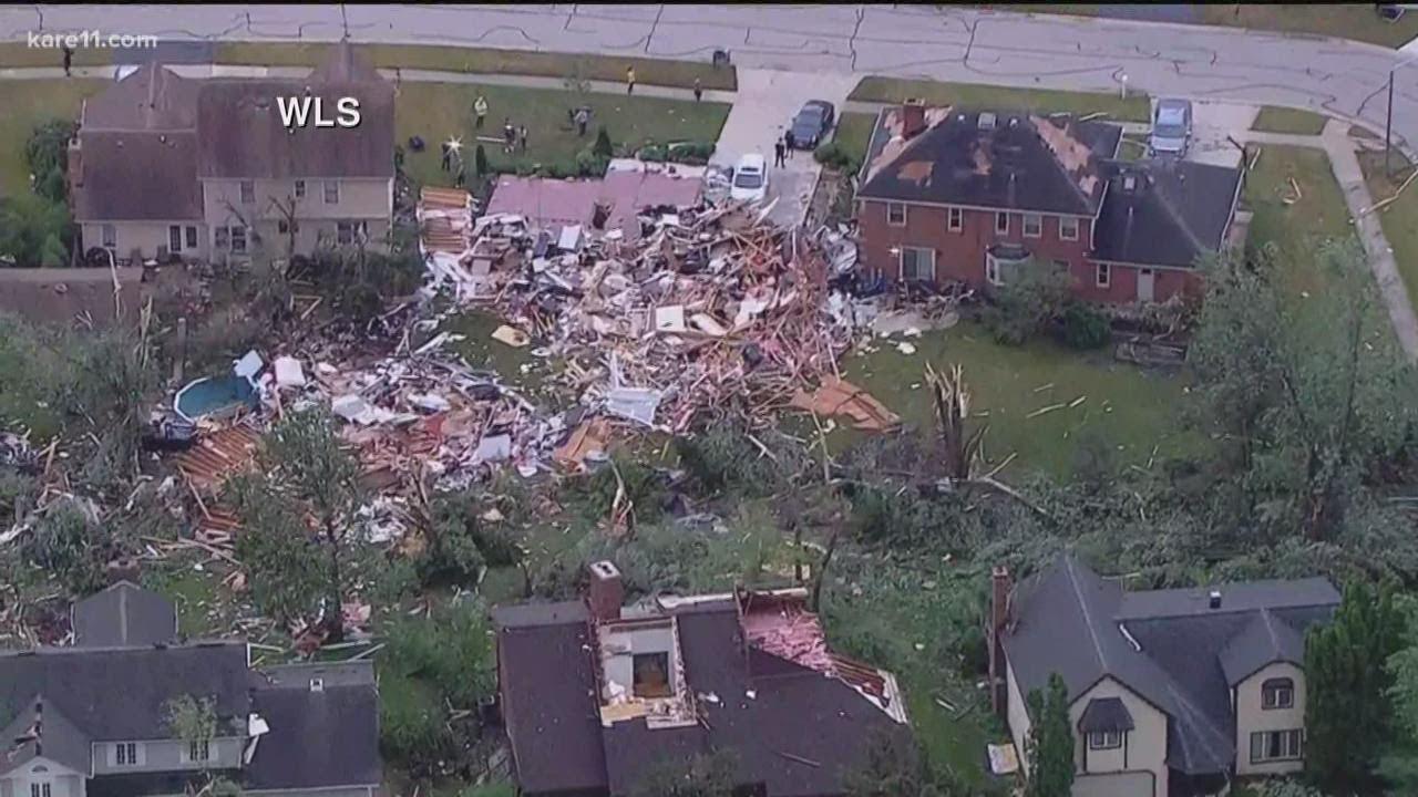Live Updates: Tornado Hits Chicago Suburbs, Causing Massive ...