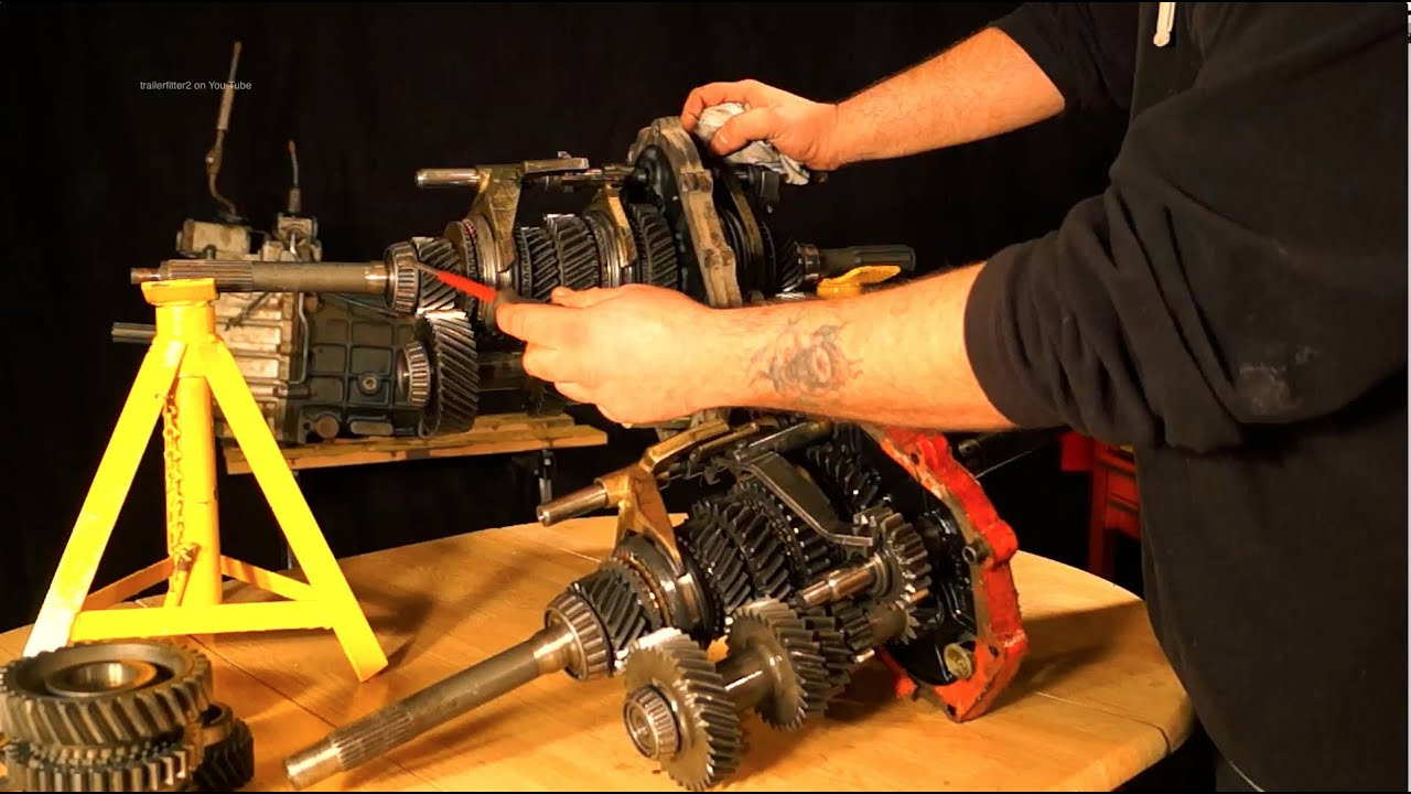 Pt1 Lt77 And R380 Land Rover Gearbox Inner Workings Of