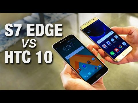 Galaxy S7 Edge vs HTC 10: Battle for the Best