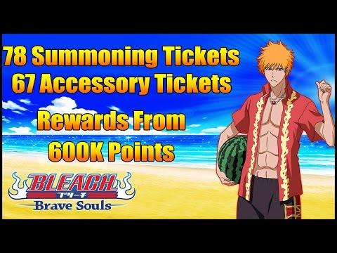 Bleach Brave Souls | Sea! Summer! Swimwear! 600K Points | Too Many Rewards!