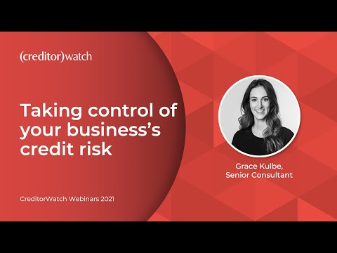 Taking control of your business's credit risk