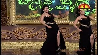 anchor anushree  hot dance show -8 FULL HD