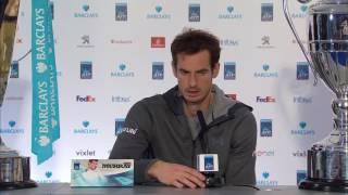 Andy Murray beats Novak Djokovic to win ATP World Tour Finals