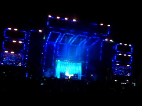 Justice (20mins) @ Ultra Music Festival 2012