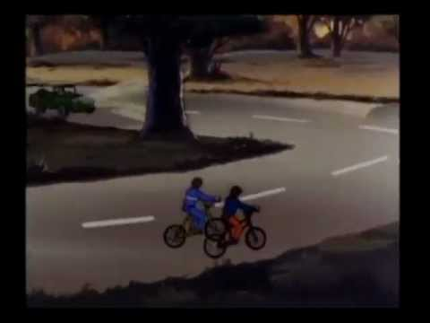G.I. Joe/Transformers/Jem PSA Crossover - Put Reflectors on your Bike
