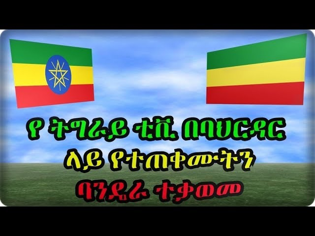 Tigray TV opposed the flag used in Bahar Dar Rally To Support Dr. abiy Ahmed
