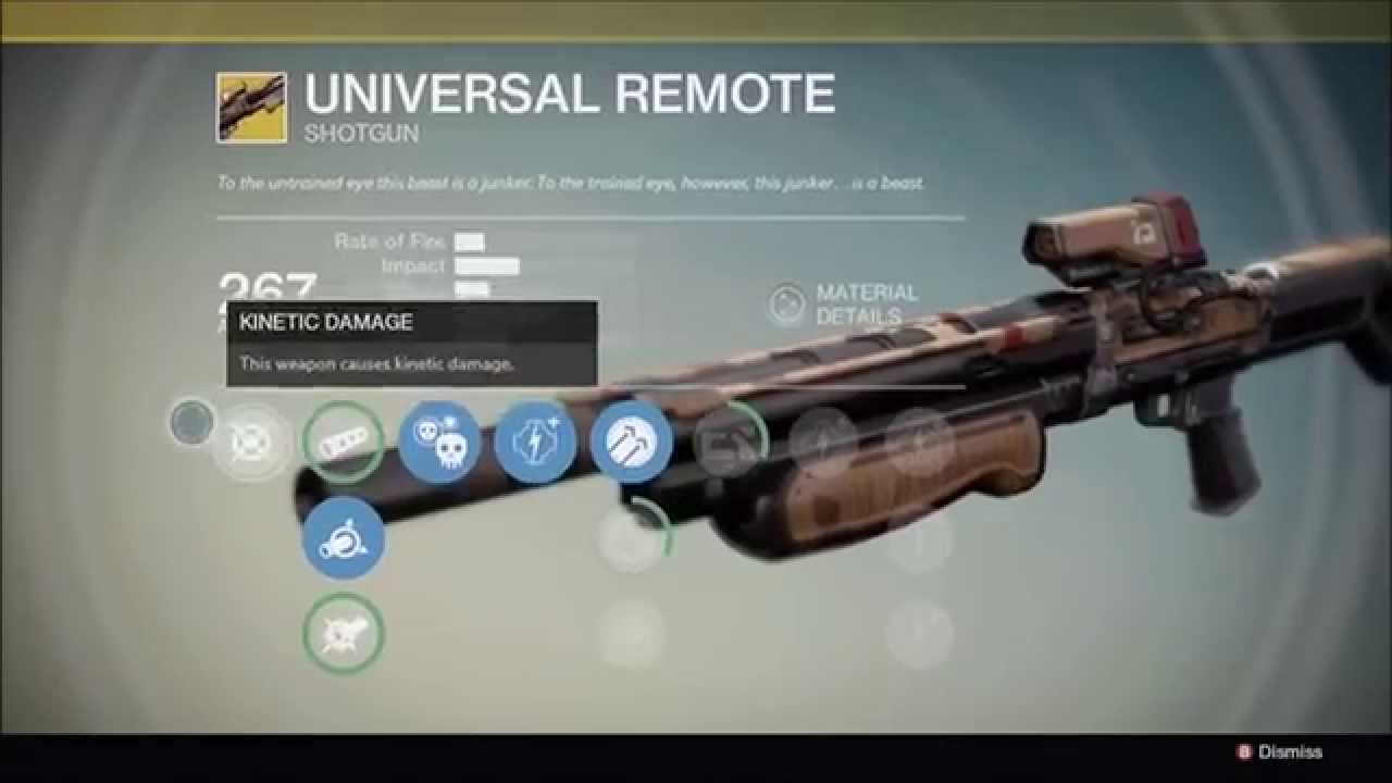 Destiny - universal remote - YouTube