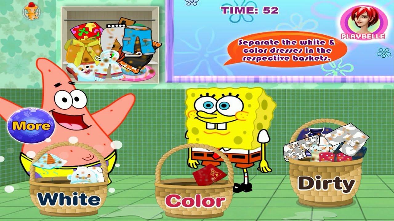 Spongebob Squarepants Full Episode - Nick Jr Game ...
