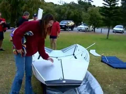 Cкладная лодка Flat-Out-Boats