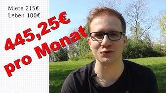 Minimalismus - Leben von 445,25€ im Monat