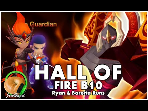 SUMMONERS WAR : Hall Of Fire B10 - Farmable Team Testing Baretta & Ryan (No Veromos)