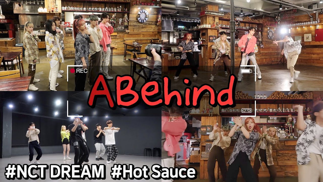 [ABehind] 'NCT DREAM - 맛 (Hot Sauce)' 릴레이 브이로그 | AB Relay VLOG