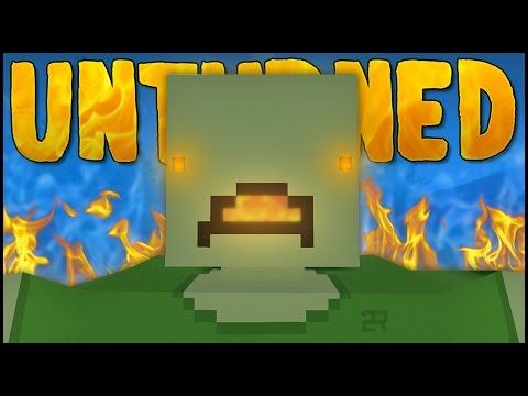 GIANT FIRE BREATHING ZOMBIE! (Unturned Boss Battles)