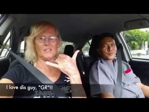 Driving to Manila Hotel, Ermita, Manila, The Philippines