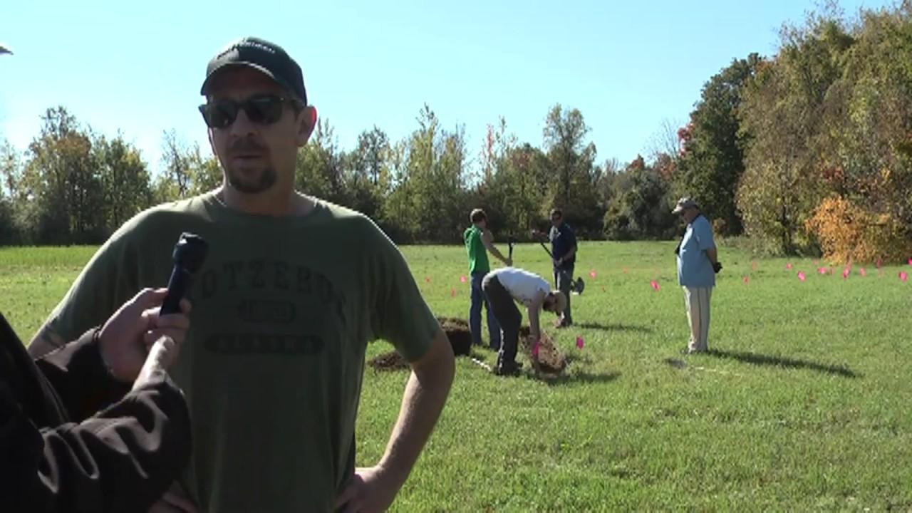 Dewey Cemetery Dig  9-29-13