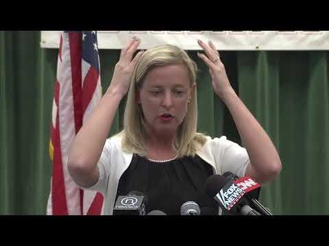 Moore schools press conference: Amy Simpson (2013-05-24)