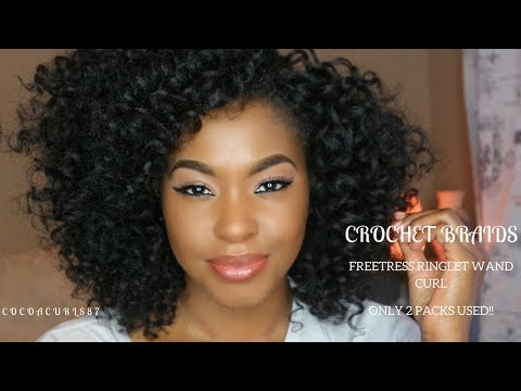 Hairstyle: Crochet Braids Freetress Ringlet Wand