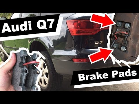 How to replace Audi Q7 Brake Pads Replacement DIY tutorial