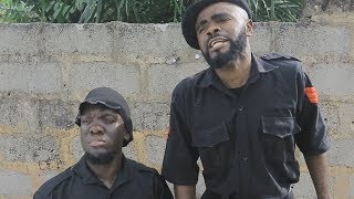 Chief Imo the Nigeria policein Biafra land with his senior brother eltibelt - Chief Imo Comedy