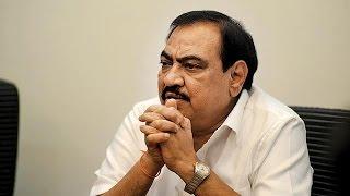 Maharashtra Revenue Minister Eknath Khadse Remains Defiant