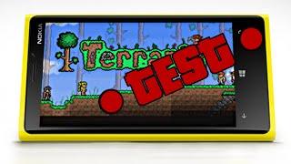 Terraria on Windows Phone, recording test