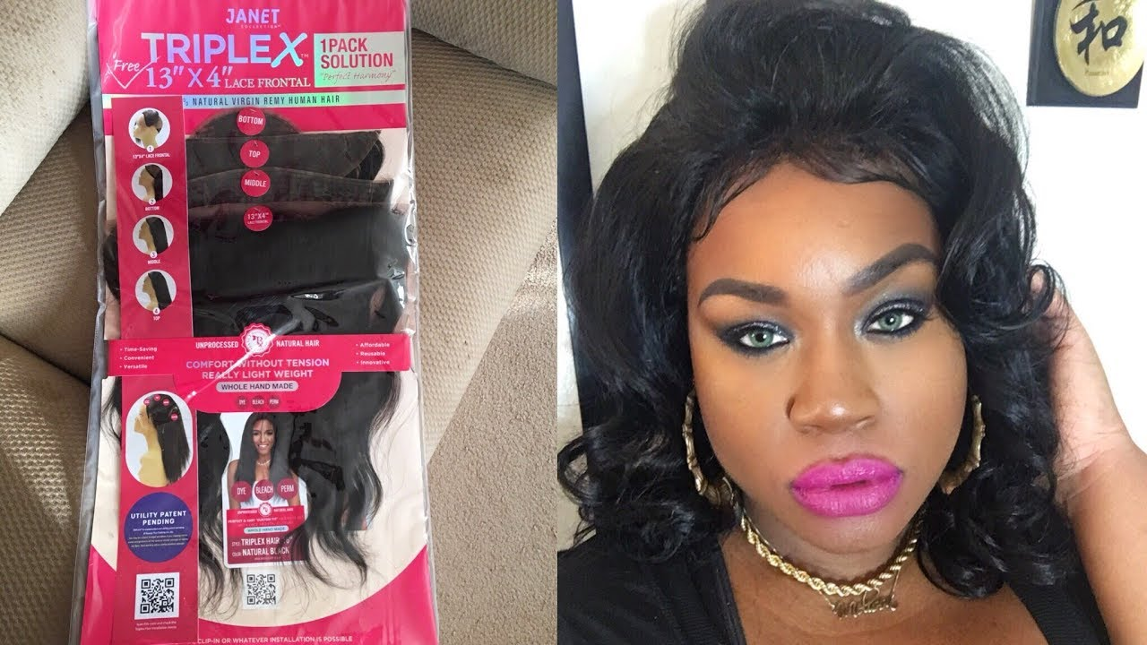 How To Make A Wig With Janet Collection Triplex 1pack Solution