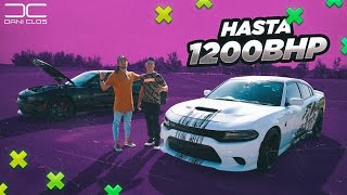 ¿ISN'T ILEGAL? MORE THAN 1000 BHP UNDER THE HOOD!! DRIVING MY SUBSCRIBERS CAR | Dani Clos