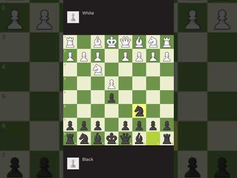 Winning Chess Game simply with Italian Opening #shorts