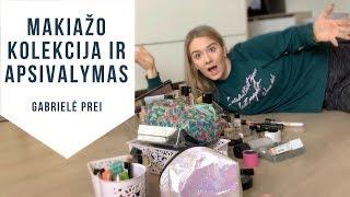 Kosmetikos priemonių apsivalymas + mano kosmetikos kolekcija.